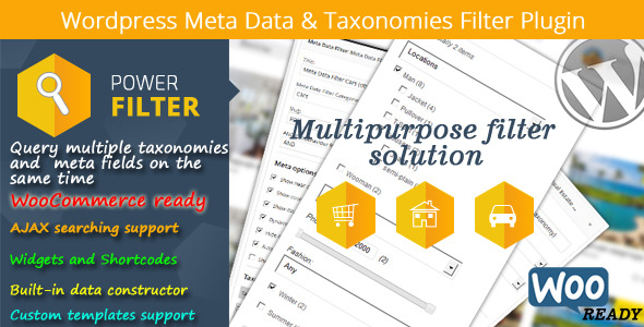 MDTF - WordPress Meta Data Filter and Taxonomies Filter