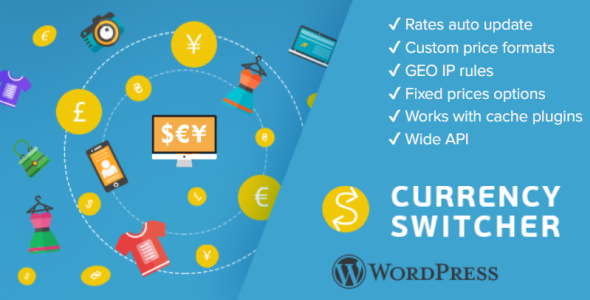 WPCS - WordPress Currency Switcher